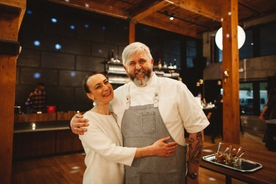 Chef John and Renee Gorham of Third n Tasty at Atticus Hotel in McMinnville, Oregon
