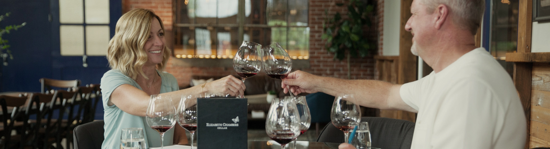 Atticus Hotel guests enjoy a Pinot noir flight at Elizabeth Chambers Cellar in McMinnville, Oregon.