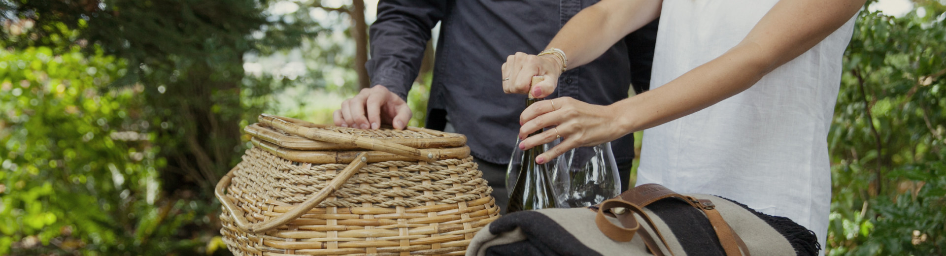 Atticus Hotel guests enjoy a picnic featuring a Willamette Valley Pinot noir.