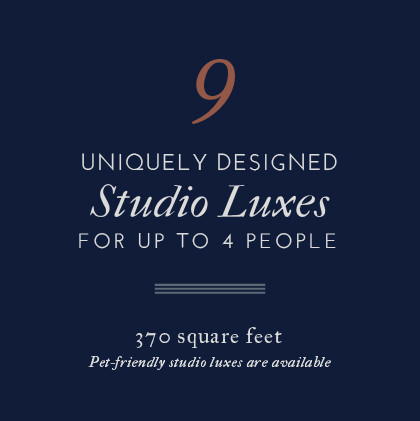 Atticus Hotel features 9 uniquely designed Studio Luxes for up to 4 people in McMinnville, Oregon