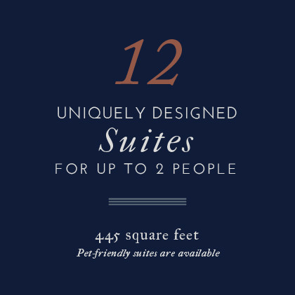 Atticus Hotel features 12 uniquely designed Suites for up to 2 people in McMinnville, Oregon
