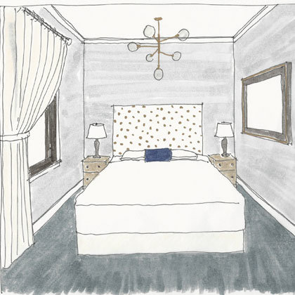 Rendering of a Suite Bedroom at Atticus Hotel in McMinnville, Oregon