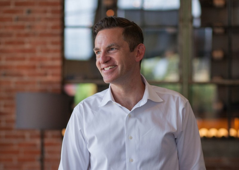 Ben Perle, a new partner and General Manager of Atticus Hotel in McMinnville, Oregon