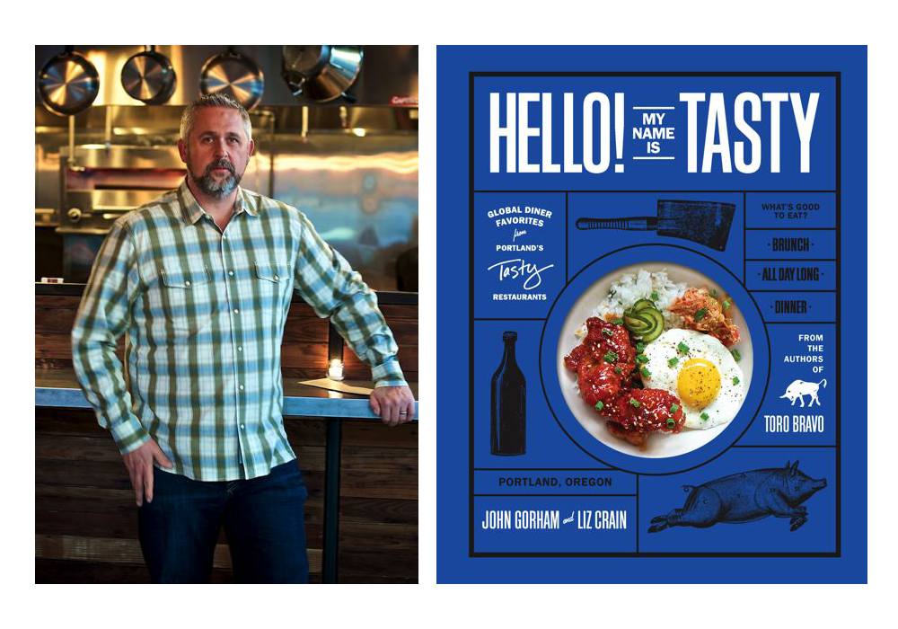 Chef John Gorham and his book Hello! Tasty