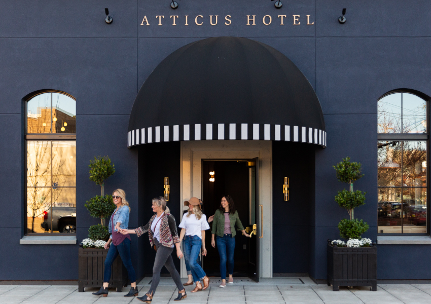 Enjoy a stay with friends and family at Atticus Hotel in McMinnville, Oregon
