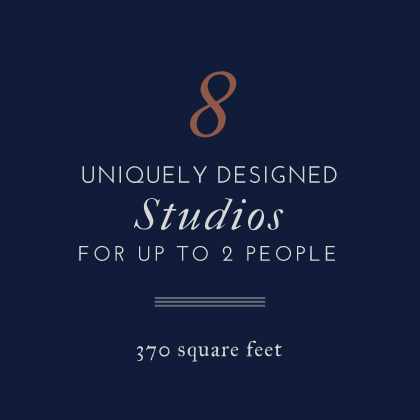 8 Uniquely Designed Studios for up to 2 People at Atticus Hotel in McMinnville, Oregon