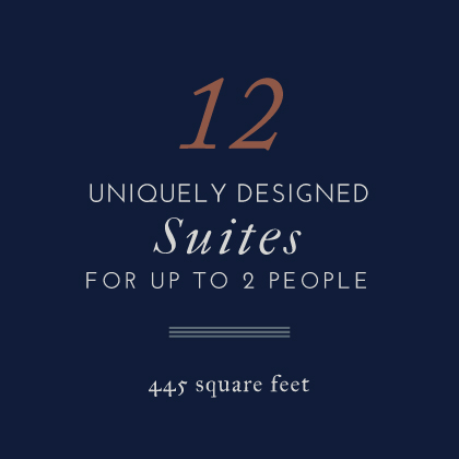 12 Suites Uniquely Designed Suites for up to 8 People at the Atticus Hotel in McMinnville, Oregon