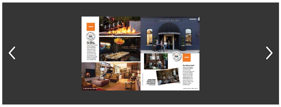 Atticus Hotel in Sunset's 2020 Wine Issue