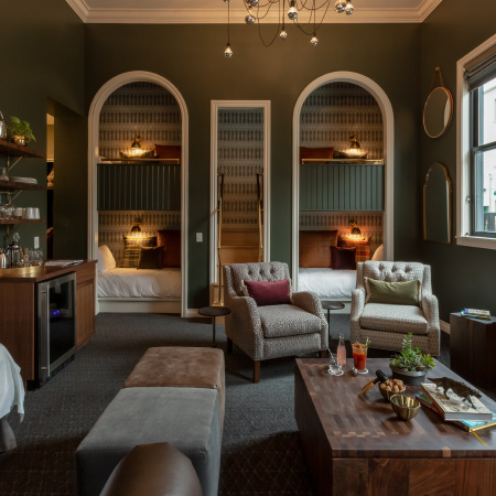 The Luxury Bunkhouse at Atticus Hotel in McMinnville, Oregon